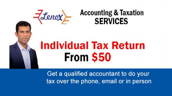 Tax returns from $50